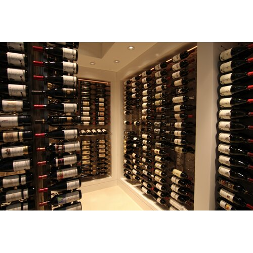 VintageView 18 Bottle Wall Mounted Wine Rack