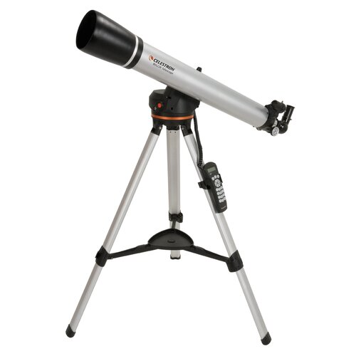 80LCM Computerized Refractor Telescope