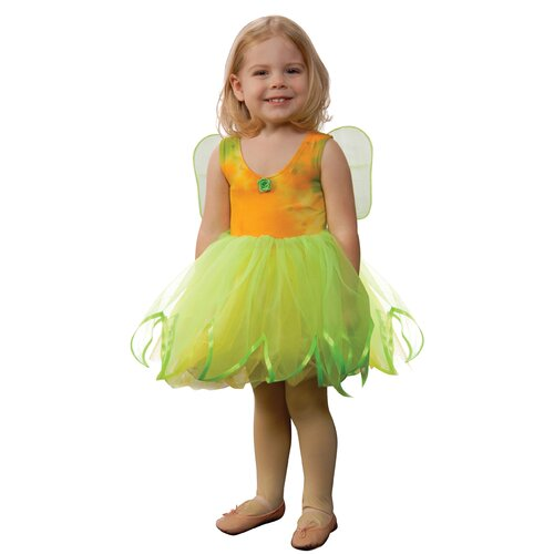 Tie-Dye Fairy Dress with Attached Wings