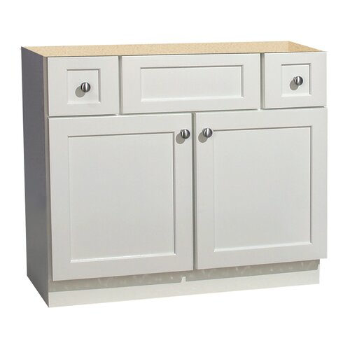 "Coastal Collection Cape Cod Series 36"" Maple Bathroom Vanity Base"