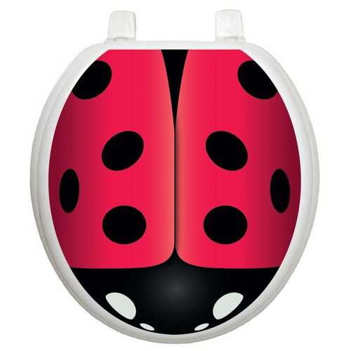 Toilet Tattoos Youth Ladybug Toilet Seat Decal
