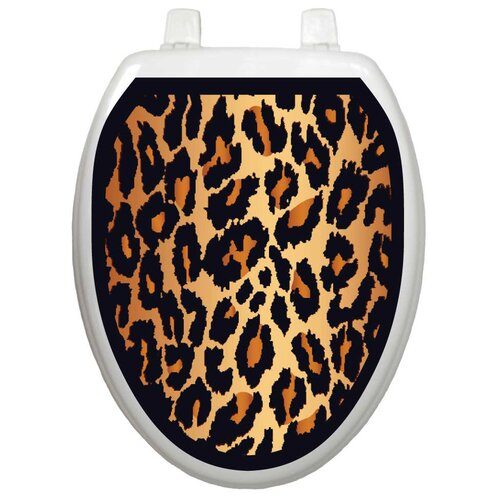 Toilet Tattoos Classic Leopard Toilet Seat Decal