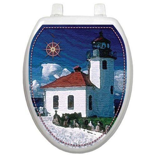 Toilet Tattoos Themes Lighthouse Toilet Seat Decal