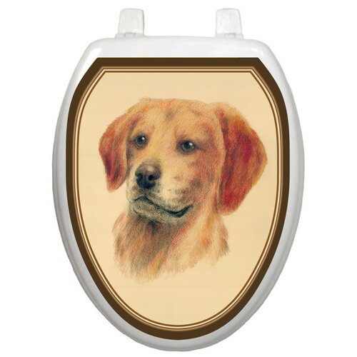 Toilet Tattoos Themes Golden Retriever Toilet Seat Decal
