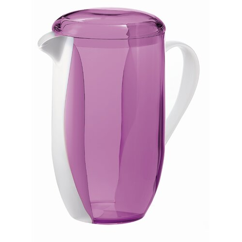 Guzzini Happy Hour Two Toned Pitcher in Violet