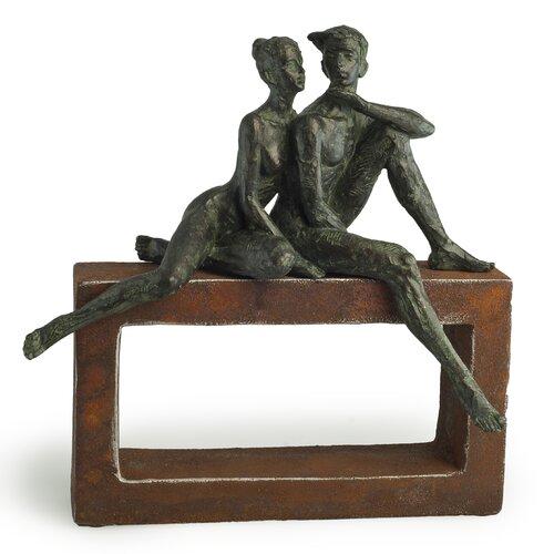 """Danya B """"In Love"""" on Rustic Stand Figurine"""