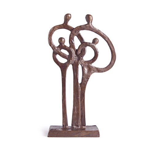 Danya B Family of 4 Ring of Love Figurine