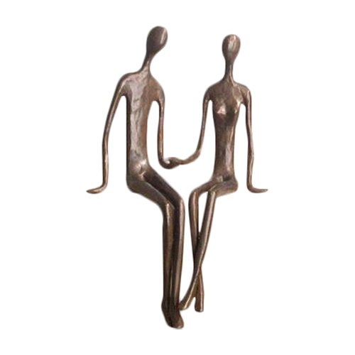 Sitting Couple Figurine
