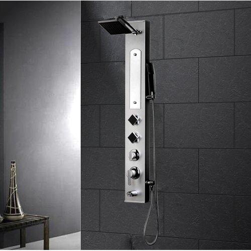 Ariel Bath Aluminum Alloy Volume Control Shower Panel