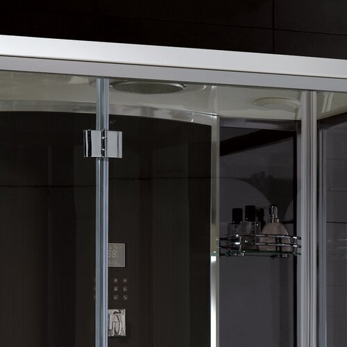 """Ariel Bath Platinum 59"""" x 35.5"""" x 87.4"""" Neo-Angle Door Steam Shower"""