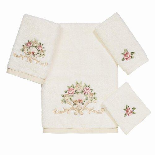 Avanti Linens Premier Royal Rose 4 Piece Towel Set