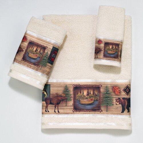 Avanti Linens Camping Trip 3 Piece Towel Set