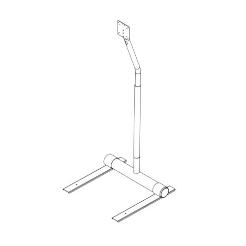 Peerless Swivel Floor Stand Mount for LCD