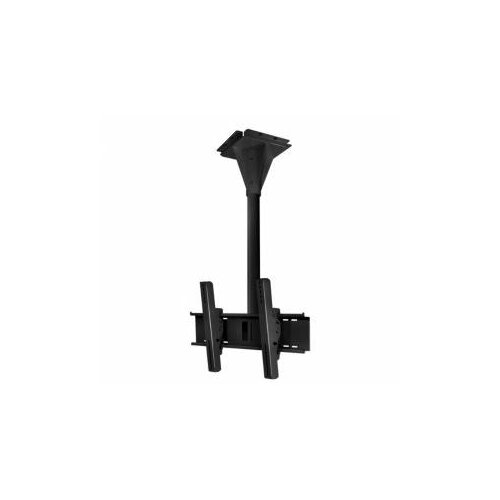 Peerless Wind Rated I-beam Swivel/Tilt Universal Ceiling Mount for Screens