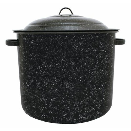 Granite Ware Graniteware Stock Pot with Lid