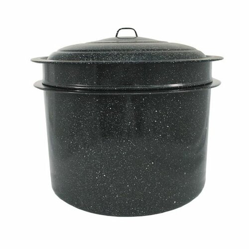 Granite Ware Quart Crab and Crawfish Steamer