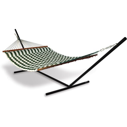 Universal Hammock Stand with Fabric Pillow Hammock Combo