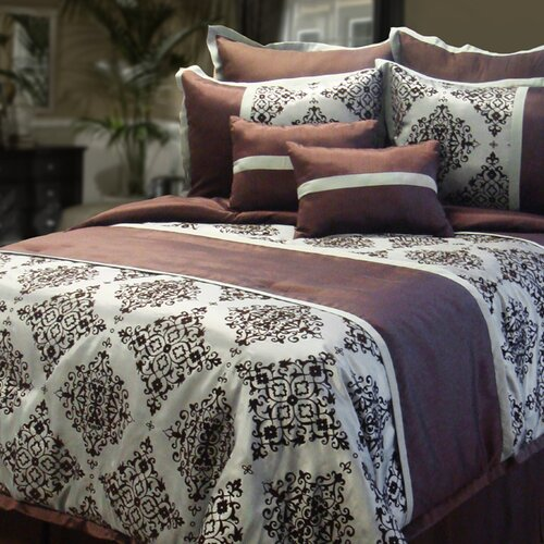Veratex, Inc. Royalty 8 Piece Comforter Set