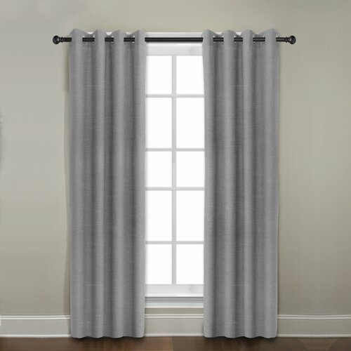 Veratex, Inc. Gotham Ramie Linen Grommet Curtain Single Panel