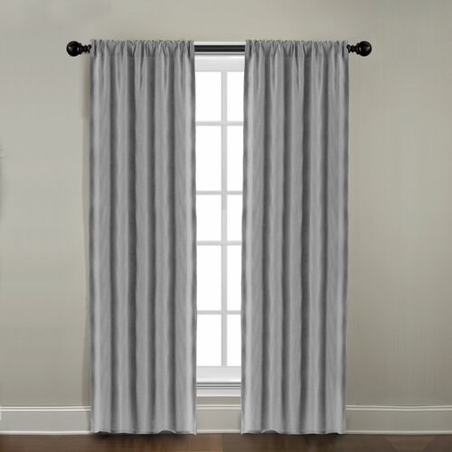 Veratex, Inc. Gotham Ramie Linen Rod Pocket Window Curtain Single Panel