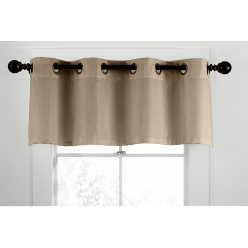 "Veratex, Inc. Gotham Ramie Grommet Tailored 50"" Curtain Valance"