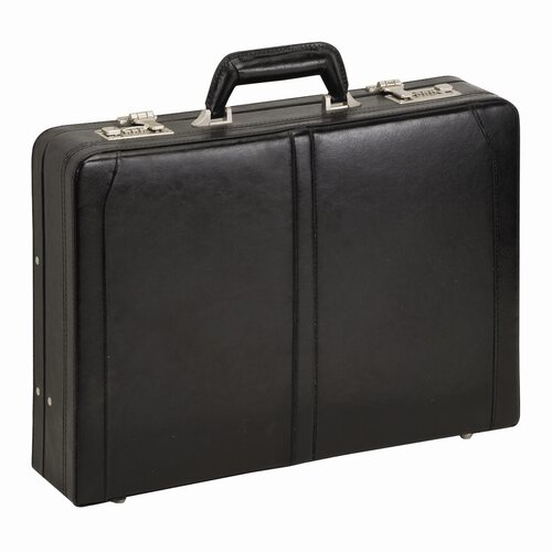 Solo Cases Classic Leather Laptop Attache Case