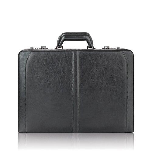 Classic Leather Laptop Attache Case