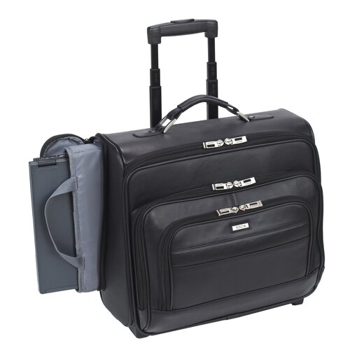 Solo Cases Classic Leather Laptop Pilot Case