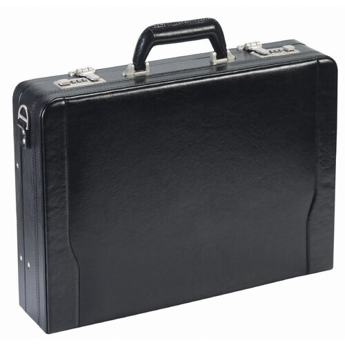 Solo Cases Leather Laptop Attache Case