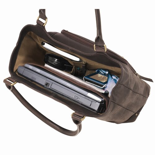 Solo Cases Executive Ladies Laptop Bucket Tote