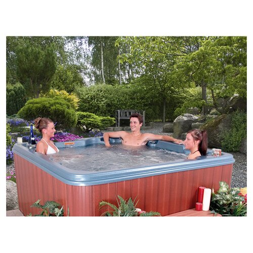 QCA Spas 7-Person 26-Jet Nassau Non-Lounger Plug and Play Spa