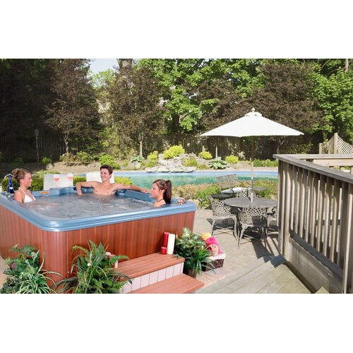 QCA Spas 7-Person 40-Jet Martinique Non-Lounger Spa