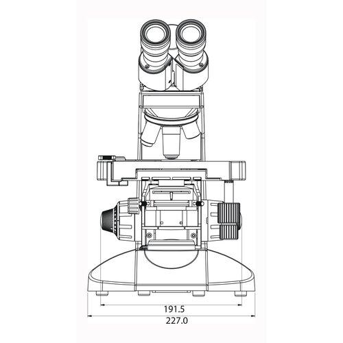 Labomed Lx 400 Binocular Microscopes HL 6V30W
