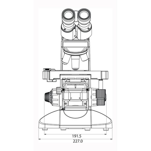 Labomed Lx 400 Digital Binocular Microscope with 1.3MP CMOS Camera