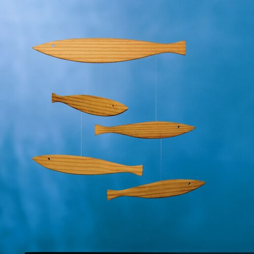 Flensted Mobiles Floating Fish Mobile