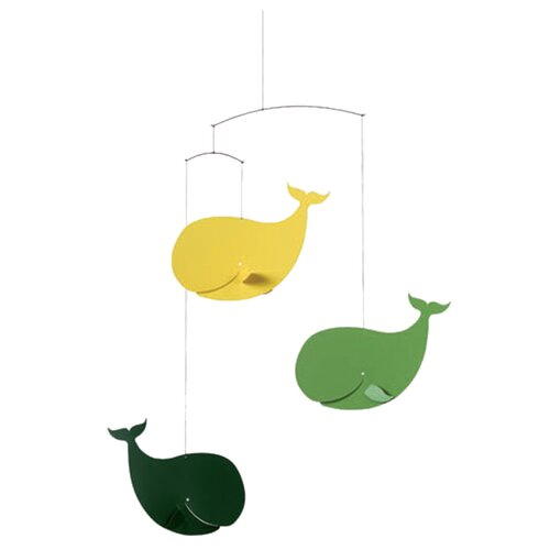 Flensted Mobiles Happy Whales Mobile