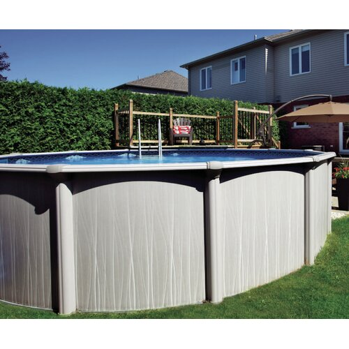 Aqua mate by trevi round 52 deep deluxe above ground pool for Trevi pools