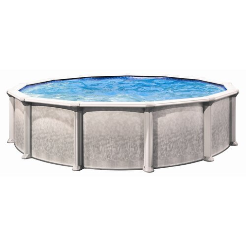 "Trevi Aqua Mate by Trevi Round 52"" Deep Above Ground Pool"
