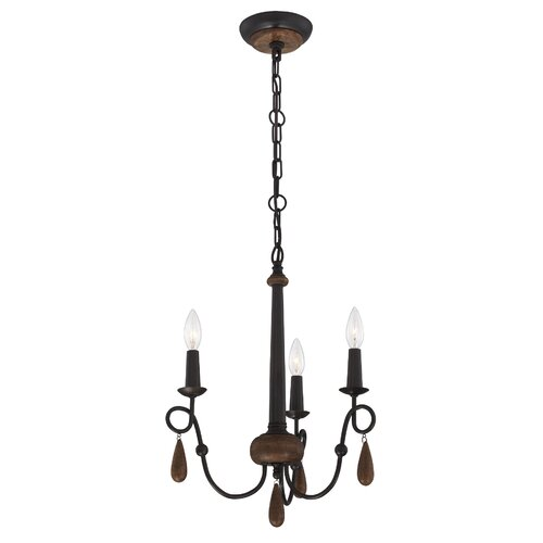 Corso 3 Light Chandelier
