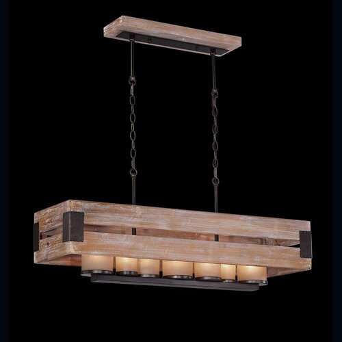 Cesto 7 Light Candle Pendant