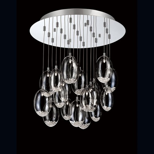 Hazelton 19 Light Pendant