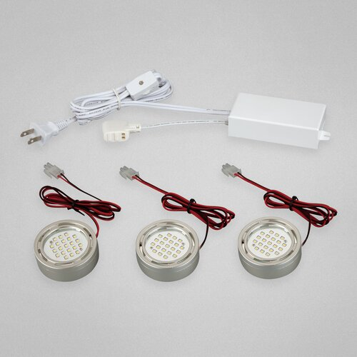 Under Cabinet Mini Puck Light Kit
