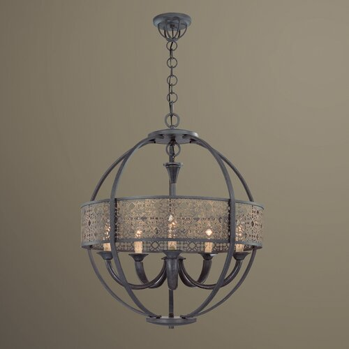 Eurofase Arsenal 5 Light Chandelier