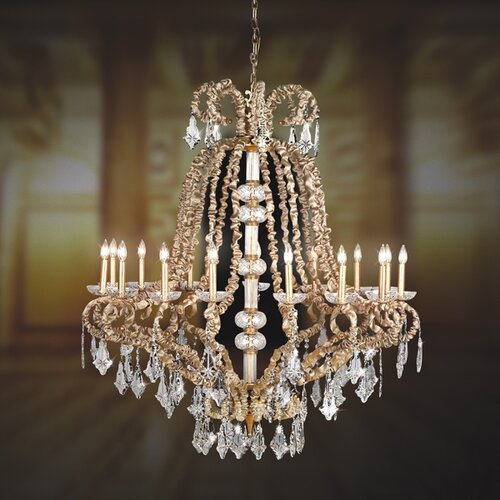 Eurofase Baliza 15 Light Chandelier
