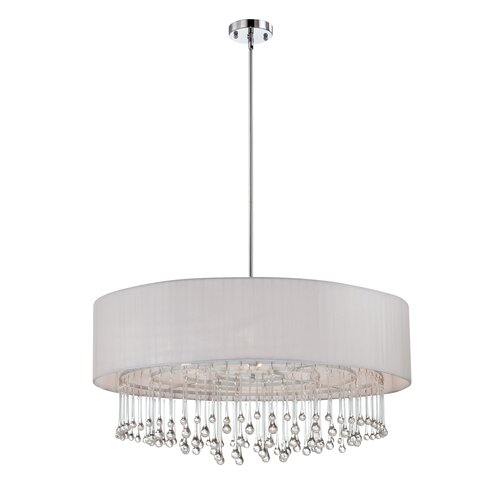 Eurofase Penchant 6 Light Drum Pendant
