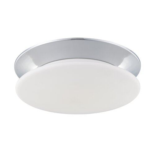 Crown 1 Light Flush Mount