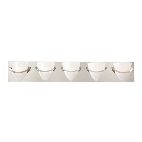 Eurofase Forma 5 Light Bath Vanity Light