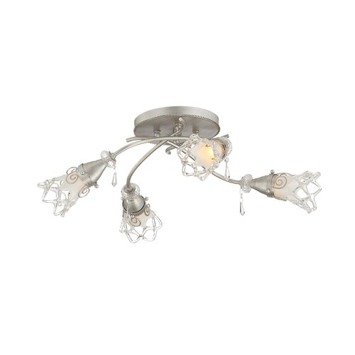 Eurofase Mara 4 Light Semi-Flush Mount