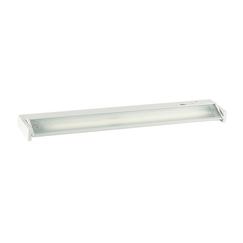 One Light Undercabinet with Frost Shade in White