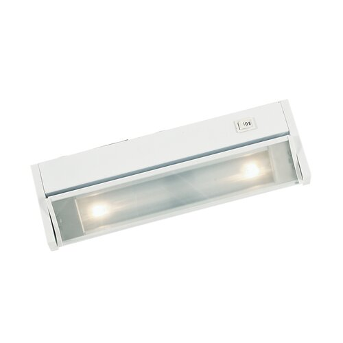 Eurofase Two Light Undercabinet with Adjustable Face in White